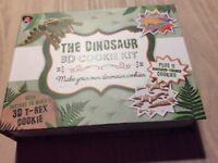 Dinosaur cookie set brand new
