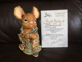 "Pendelfin ""Aunt Ruby"" Collectable"