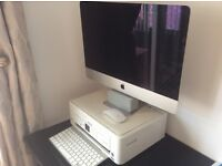 Apple Mac with Epson printer, JVC camcorder and Fujifilm camera