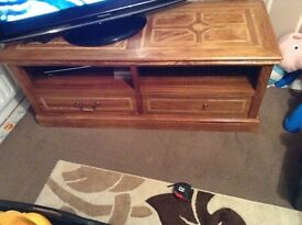 Marks & spencer solid rose wood tv cabinet