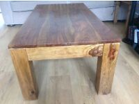 Coffee Table - solid oak.