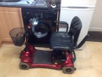 ULTRALITE CAR BOOT SIZED MOBILITY SCOOTER IN MINT A1 CONDITION WITH NEW BATTERIES FITTED