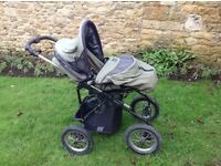 All terrain pushchair/pram