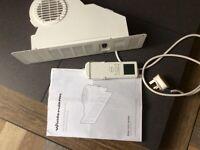 Winterwarm electric plynth heater 2 kw