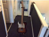 Left Handed Fender Telecaster (Mex)