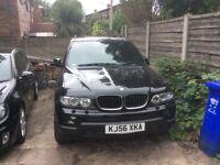56 PLATE BMW X5, 3L DIESEL, AUTO
