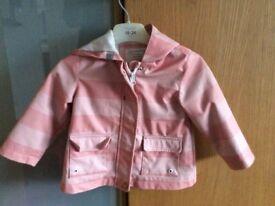 Zara baby girls jacket age 12-18 months