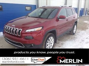 2015 Jeep Cherokee Limited PST PAID