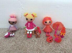 Lalaloopsy mini dolls