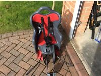 Child's Bike Seat. Carrier. Seat Post Mounted.