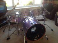 Drum kit natal pro maple short stack 8 piece kit