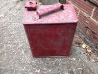 Wintage petrol can