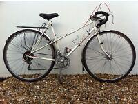 Rare Holdsworth Lady Mistral mixte 1982 vintage road bike. 531 Reynolds tubing.