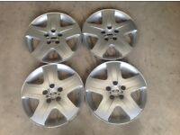 "16"" GENUINE FORD FOCUS C-MAX WHEEL TRIMS(S-MAX,TRANSIT,S MAX,C MAX, MONDEO,FIESTA,ALLOYS)"