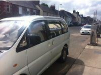 Mitsubishi 4x4, 7 seater car/van with MOT £1100OBO
