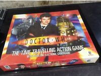 doctor who the time travelling action game NEW and unopened