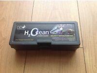 D&D salt water refractometer
