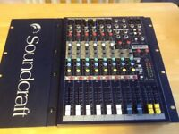 Soundcraft emp mixing desk