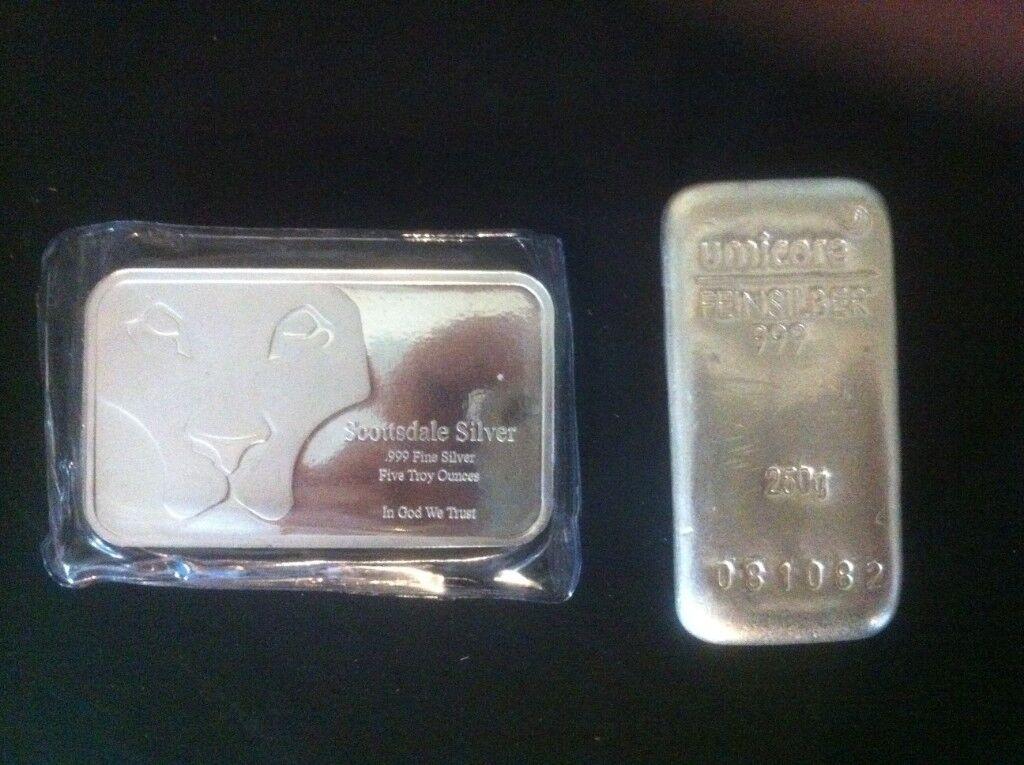 Over 400g 13 Ounces Pure 999 9 Silver Bullion