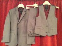 Boys 3 piece suit (Next) age 7