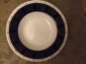 VINTAGE SOUP/DESSERT PLATES