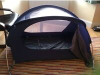 Lightweight Travel cot / Tent or sun play tent