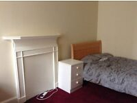 All bills inc, large double room available now for short term. June