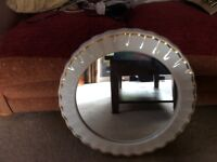 Large shell design mirror