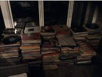 Approx 1700 vinyls