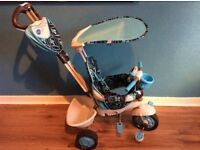 Smart Trike 4 in 1 dream in blue . Fantastic condition.10m to 3 yrs