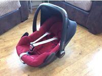 Maxi-Cosi Pebble Car Seat - Red
