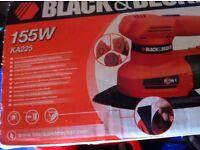 Black & Decker 155w KA225 sander,