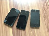 3 iPhones sold together or separate