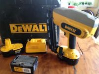 DeWalt Cordless Nail Gun
