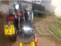MoterbikeQuick sale has log book key starts and ride good need new batti