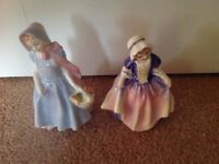 Two Doulton figurines,never displayed ,still in box as new.