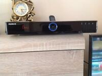 Humax HDR-FOX T2 Freevirw digital TV recorder with 500 gab HDD