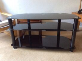 TV Stand Black Glass (BS6206A T YM 11/09