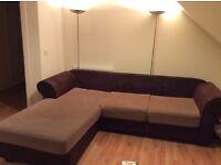 Corner sofa needs to go