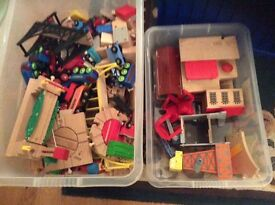 Brio train set with lots of extras. £40