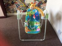 Baby swing perfect condition