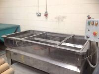 1800 x 1000 Hydrogrhics dipping tank, good working condition £990.00