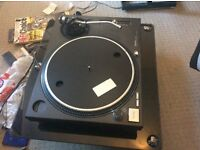 1 - Technics 1210mk2 turntable . No offers