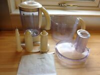 KENWOOD FP480 / FP580 parts, incl bowl+ lid. Liquidiser and lid. Dough and cutting blade cutting