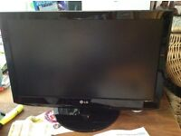 LG 22 inch TV - full working order