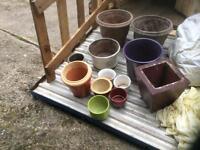 Mixture of pots