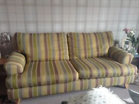 Next sofa and chair in excellent condition