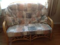 Sofa and Chairs - Conservatory Cane Furniture