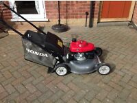 Honda lawn mower lawnmower and stihl strimmer for sale