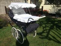 Silver Cross Balmoral pram approximately 10yrs old in excellent condition.